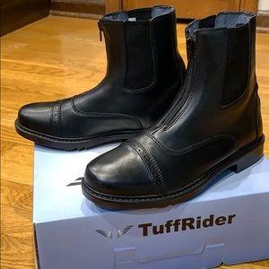"""TuffRider Paddock zip boots Women""""s sz 8 black"""